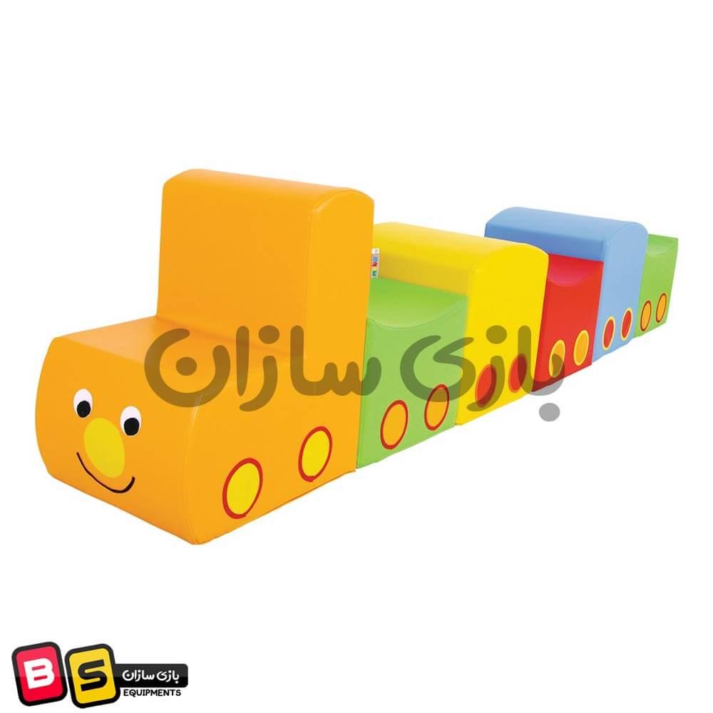 قطار فومی کودک