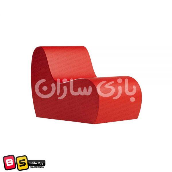 مبل فومی کودک (قرمز)