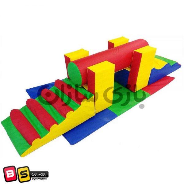 ایستگاه فومی کودک + پله