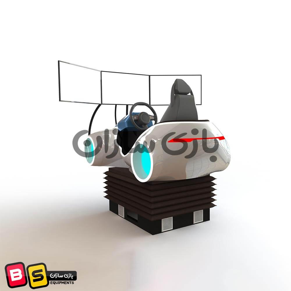 شبیه ساز ماشین مسابقه ای VR