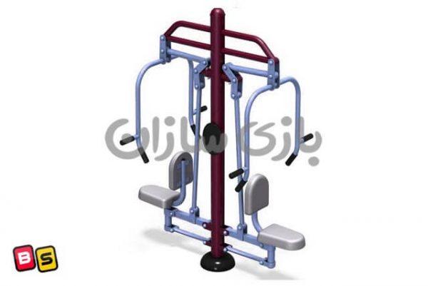 دستگاه ورزشی پرس سینه دوطرفه B3