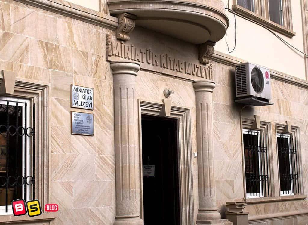 موزه کتابهای مینیاتور باکو