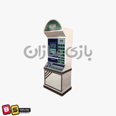 دستگاه ATM چوبی بانک