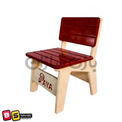 صندلی کودک چوبی پایا