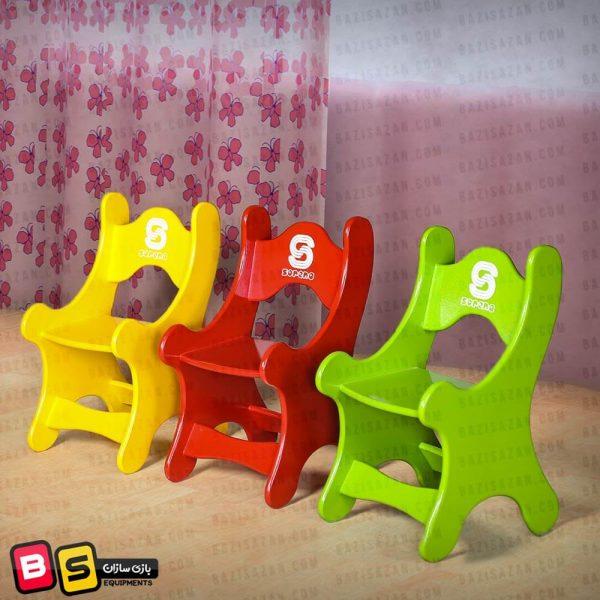 صندلی چوبی کودک سورنا محیطی