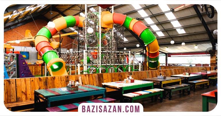 رستوران با فضای بازی کودک