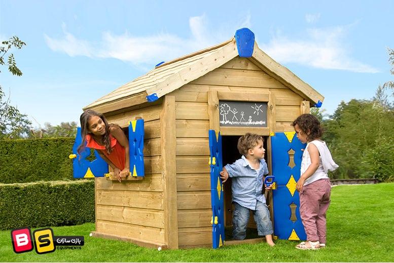 خانه اسباب بازی چوبی
