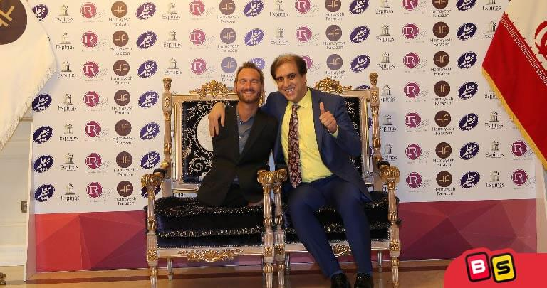 حسین رضا سلطانی در کنار نیک ووییچیچ
