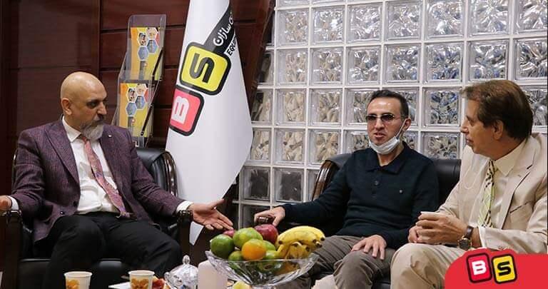 جلسه مدیران بازی سازان با پروفسور سلطانی ریاست دانشگاه ALU آمریکا