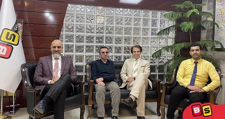 جلسه مدیران بازی سازان با پروفسور سلطانی از آمریکا