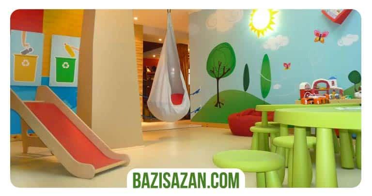 اتاق بازی کودک در خانه