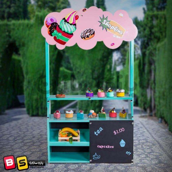 استند کاپ کیک شهر مشاغل کودک