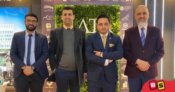 بازدید از غرفه شرکت راتا به مدیریت مهندس ریاضی در نمایشگاه ایران ریتیل شو