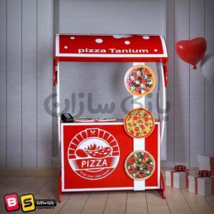 دکه پیتزا فروشی خانه مشاغل کودک
