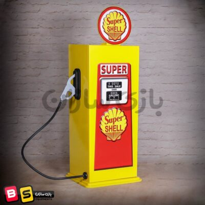 پمپ بنزین سوپر دوکاره طرح کمد مشاغل