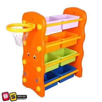 قفسه بازی با تور بسکتبال