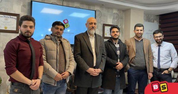 در کنار آقایان حامدی و محمدی نمایندگان شعبه افغانستان بازی سازان