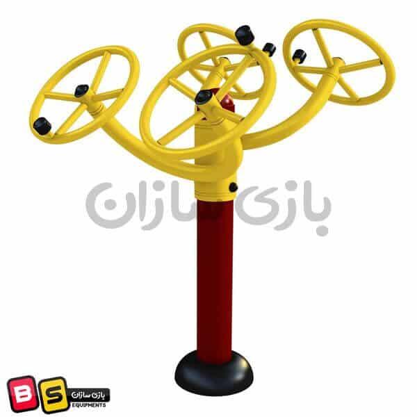 چرخانک چهارتایی چرخ تای چی پارکی