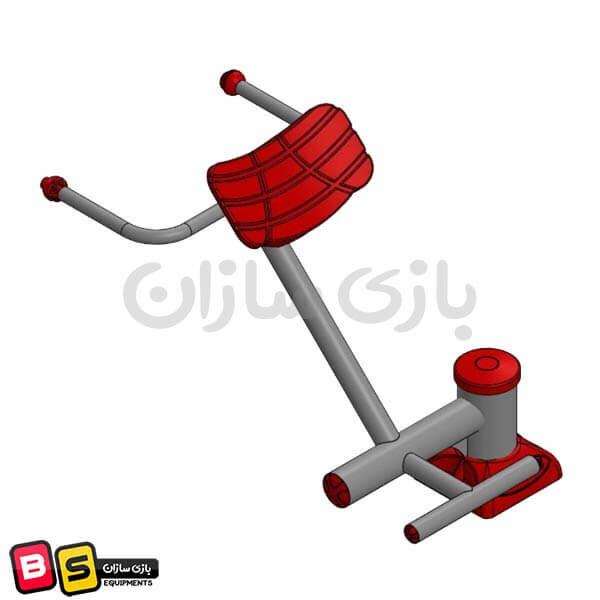 دستگاه ورزشی فیله کمر مدل BS6018