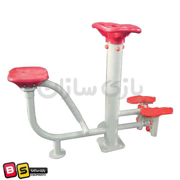 دستگاه ورزشی مسگری نشسته و کوه پیمایی مدل BS6022