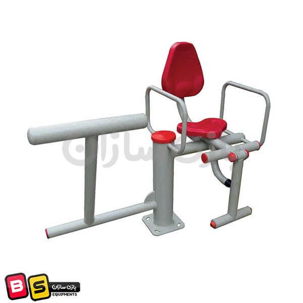دستگاه ورزشی فیله کمر و جلو پا مدل BS6024