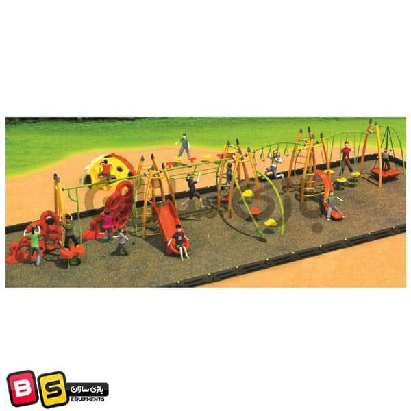 سازه پارکی تور و طناب مدل 2009
