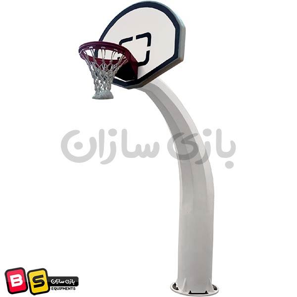 پایه بسکتبال مدل استاندارد با تابلوی بزرگ